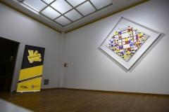 Nederland, Den Haag, 21-11-2019 Van Oort en van Oort en de Public Affairs Academie organiseren de Nacht van de Lobbyist in het Gemeentemuseum Kunstmuseum in Den Haag. Victory Boogie Woogie van Piet Mondriaan