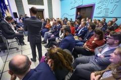 Nederland, Den Haag, 21-11-2019Van Oort en van Oort en de Public Affairs Academie organiseren de Nacht van de Lobbyist in het Gemeentemuseum Kunstmuseum in Den Haag